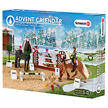 Buy Schleich Show Jumping Horse Advent Calendar Online at johnlewis.com