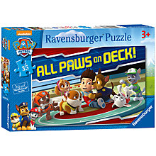 Buy Paw Patrol All Paws On Deck! Puzzle, 35 Pieces Online at johnlewis.com