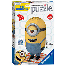 Buy Ravensburger Minions 3D Puzzle, 54 Piece Online at johnlewis.com