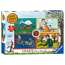 Buy Ravensburger Stick Man Giant Floor Puzzle, 24 Pieces Online at johnlewis.com
