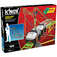 Buy K'Nex Double Doom Roller Coaster Construction Set, 891 Pieces Online at johnlewis.com