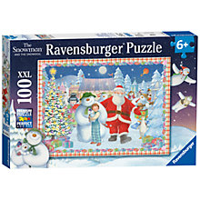 Buy Ravensburger The Snowman And The Snowdog XXL Puzzle, 100 Pieces Online at johnlewis.com