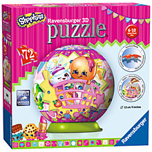 Buy Shopkins Ravensburger 3D Puzzle, 72 Pieces Online at johnlewis.com