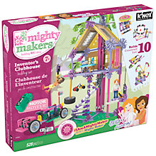 Buy K'Nex Mighty Makers Inventor's Clubhouse Construction Set, 528 Pieces Online at johnlewis.com