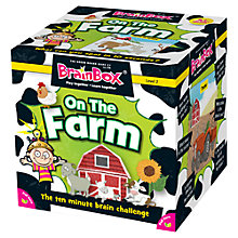 Buy BrainBox On The Farm Brain Challenge Game Online at johnlewis.com