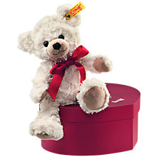 Buy Steiff Sweetheart Teddy Bear in a Box Online at johnlewis.com