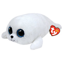 Buy Ty Beanie Boo Icy Seal Soft Toy, 24cm Online at johnlewis.com