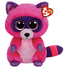 Buy Ty Beanie Boo Roxie Soft Toy, 24cm Online at johnlewis.com