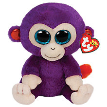 Buy Ty Beanie Boo Buddy Grapes Soft Toy, 24cm Online at johnlewis.com