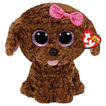 Buy Ty Beanie Boo Soft Toy, Maddie Online at johnlewis.com