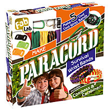 Buy FabLab Paracord Survival Wrist Bands Kit Online at johnlewis.com