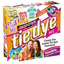 Buy FabLab Designer Tie Dye Kit Online at johnlewis.com