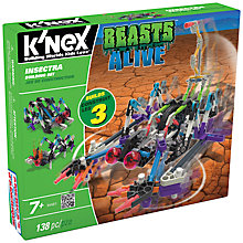 Buy K'Nex Beasts Alive Insectra Construction Set, 138 Pieces Online at johnlewis.com