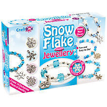 Buy Craft Box Snow Flake Charm Jewellery Set Online at johnlewis.com
