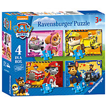Buy Paw Patrol 4-In-1 Ravensburger Puzzle, 72 Pieces Online at johnlewis.com