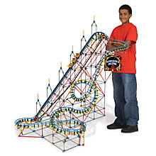 Buy K'Nex Sorcerer's Eclipse Roller Coaster Construction Set, 1370 Pieces Online at johnlewis.com