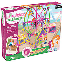 Buy K'Nex Mighty Makers Fun On The Ferris Wheel Construction Set, 324 Pieces Online at johnlewis.com
