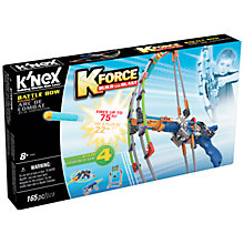 Buy K'Nex K Force Build And Blast Battle Bow Set Online at johnlewis.com
