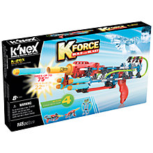 Buy K'Nex K Force Build And Blast K-20X Construction Set, 165 Pieces Online at johnlewis.com