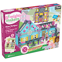 Buy K'Nex Mighty Makers Home Designer Construction Kit, 487 Pieces Online at johnlewis.com