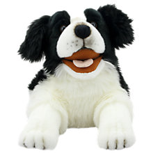Buy Puppet Factory Playful Puppies Hand Puppet, Bordie Collie Online at johnlewis.com