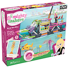 Buy K'Nex Mighty Makers Deep Sea Dive Construction Set, 317 Pieces Online at johnlewis.com