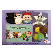 Buy Puppet Company Nursery Rhymes Finger Puppets And Book Set Online at johnlewis.com