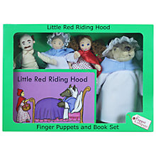 Buy Puppet Company Little Red Riding Hood Finger Puppets And Book Set Online at johnlewis.com