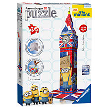 Buy Minions Ravensburger Big Ben 3D Puzzle Online at johnlewis.com