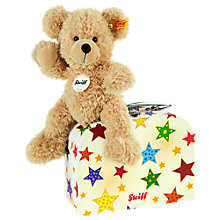 Buy Steiff Fynn Teddy Bear and Star Suitcase Online at johnlewis.com