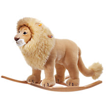 Buy Steiff Leo Riding Lion Online at johnlewis.com