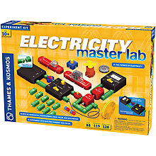 Buy Thames & Kosmos Electricity Master Lab Set Online at johnlewis.com