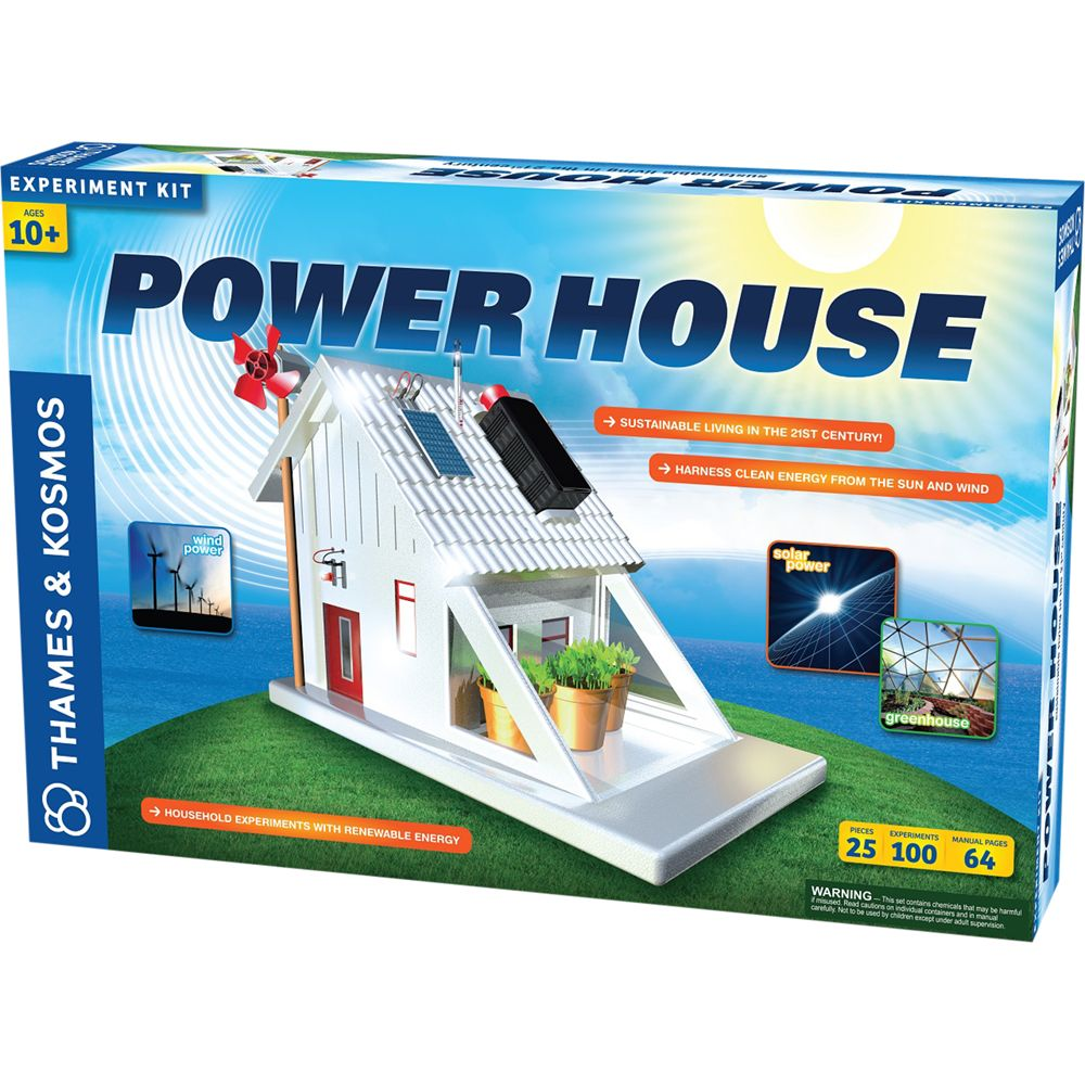 Thames & Kosmos Thames & Kosmos Power House Experiment Kit