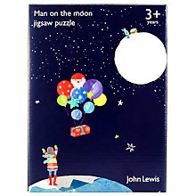 Buy John Lewis Man on the Moon Jigsaw Puzzle, 25 pieces Online at johnlewis.com