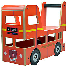 Buy Kiddimoto London Bus Ride-On Toy Online at johnlewis.com