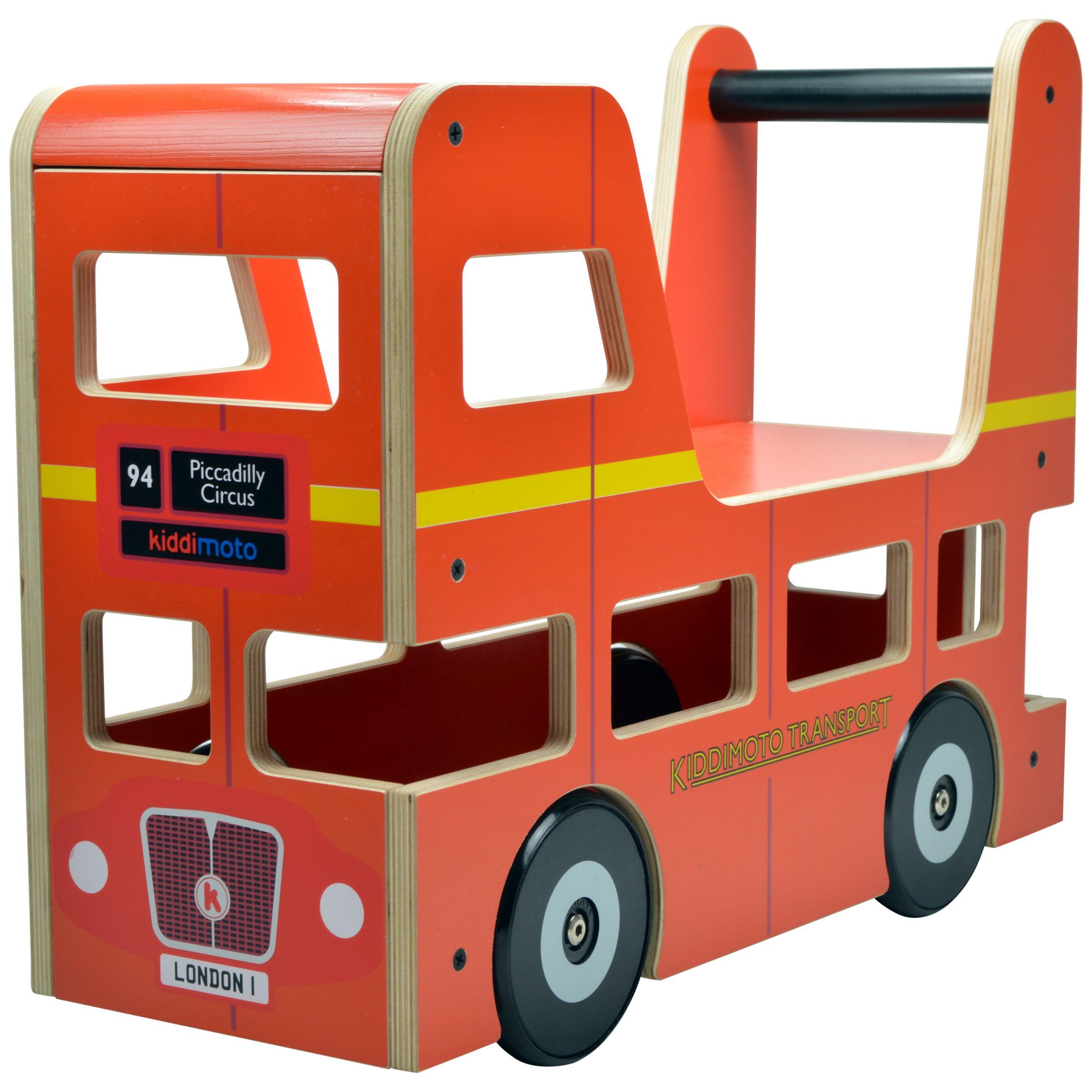 Kiddimoto Kiddimoto London Bus Ride-On Toy