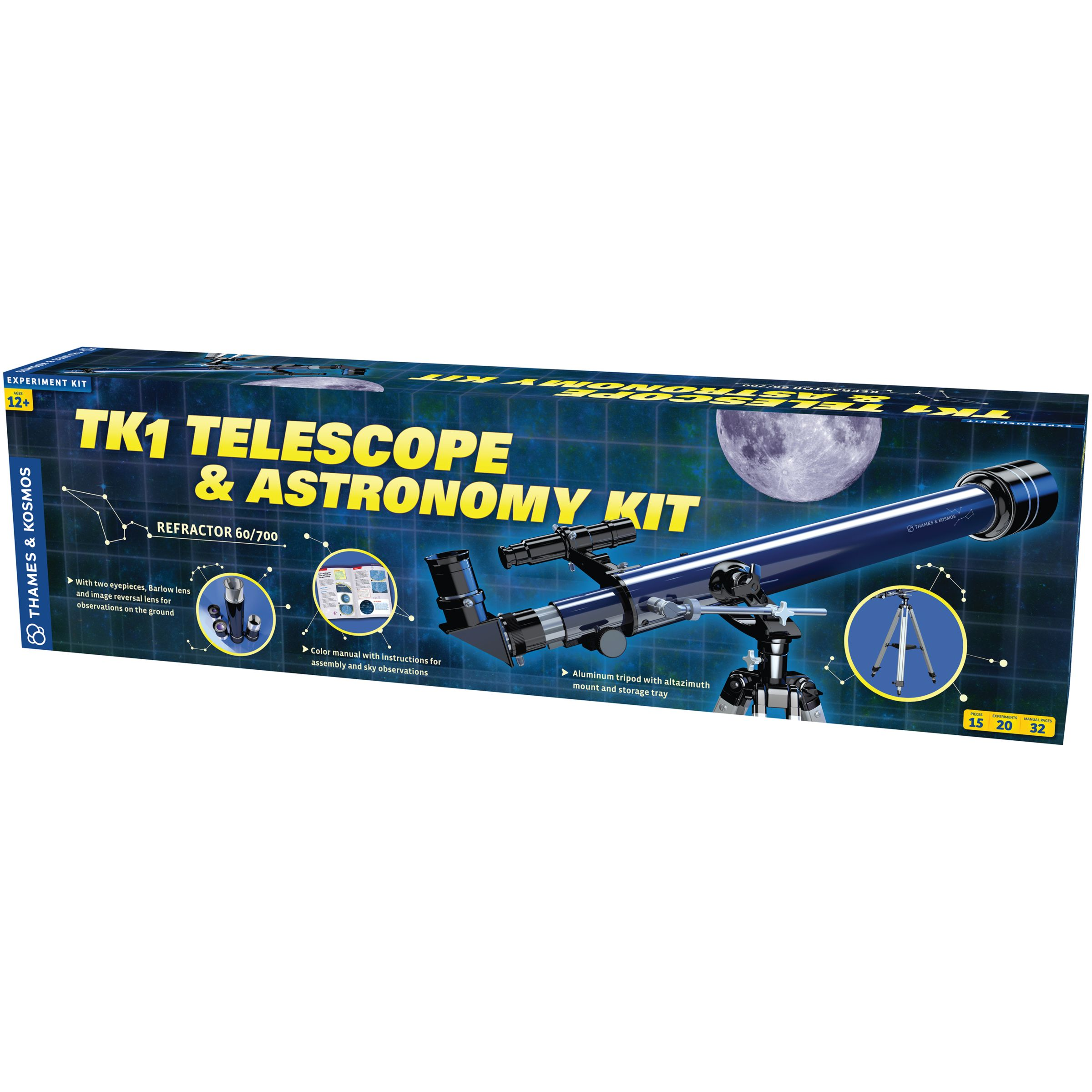 Thames & Kosmos Thames & Kosmos Telescope and Astronomy Kit