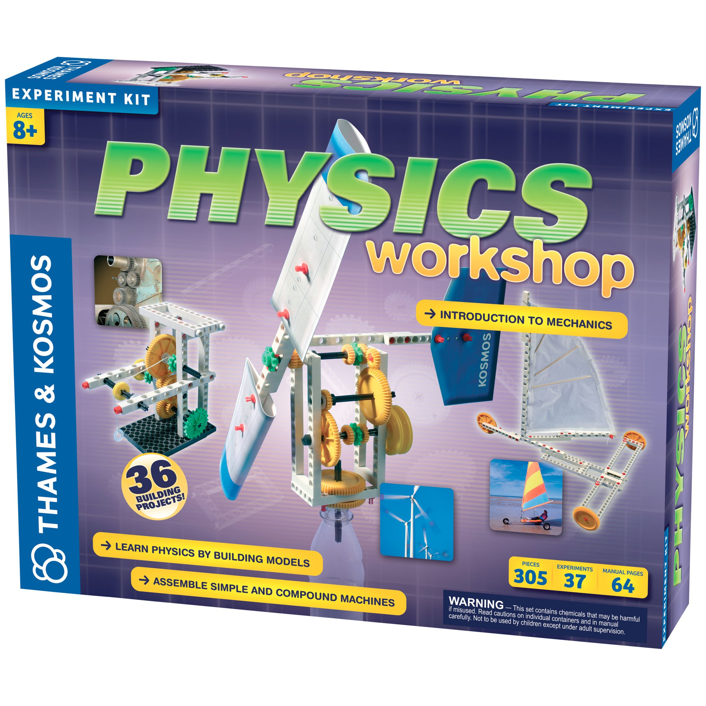 Thames & Kosmos Thames & Kosmos Physics Workshop Experiment Kit
