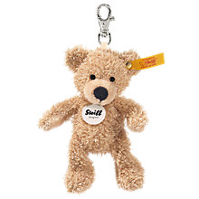 Buy Steiff Fynn Teddy Bear Key Ring Online at johnlewis.com