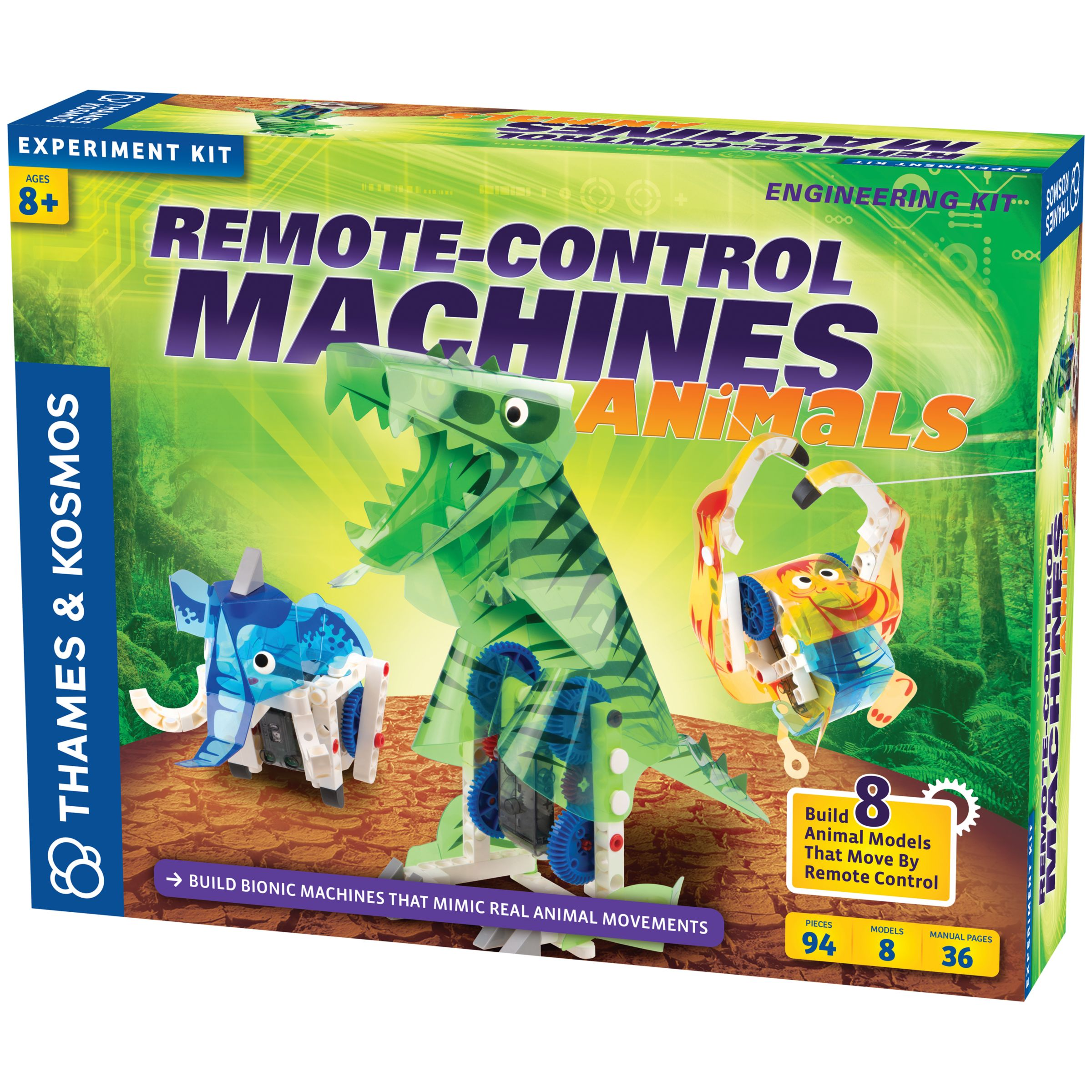 Thames & Kosmos Thames & Kosmos Remote Control Animal Machines Engineering Kit