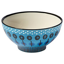Buy west elm Pottery Workshop Dash Bowl, Blue Online at johnlewis.com