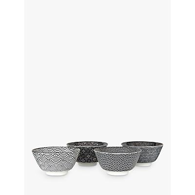Tokyo Design Studio Small Bowls, Mixed Set Of 4