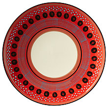 Buy west elm Potter's Workshop Seed Salad Plate, Red Online at johnlewis.com