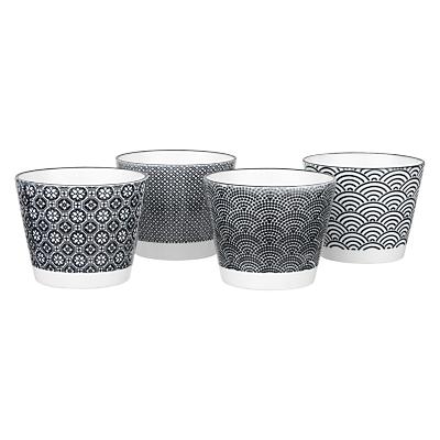 Tokyo Design Studio Teacups, Mixed Set Of 4