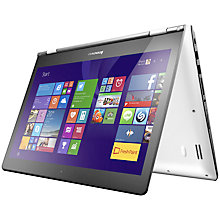 "Buy Lenovo Yoga 500 14"" Convertible Laptop, AMD A8, 8GB RAM, 1TB, 14"" Touch Screen Online at johnlewis.com"