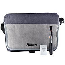 Buy Nikon DSLR Accessory Kit with Camera Bag, Rechargeable Battery & Lens Cleaning Pen Online at johnlewis.com