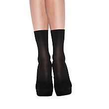 Buy Jonathan Aston Luminosity Ankle Socks, Black Online at johnlewis.com