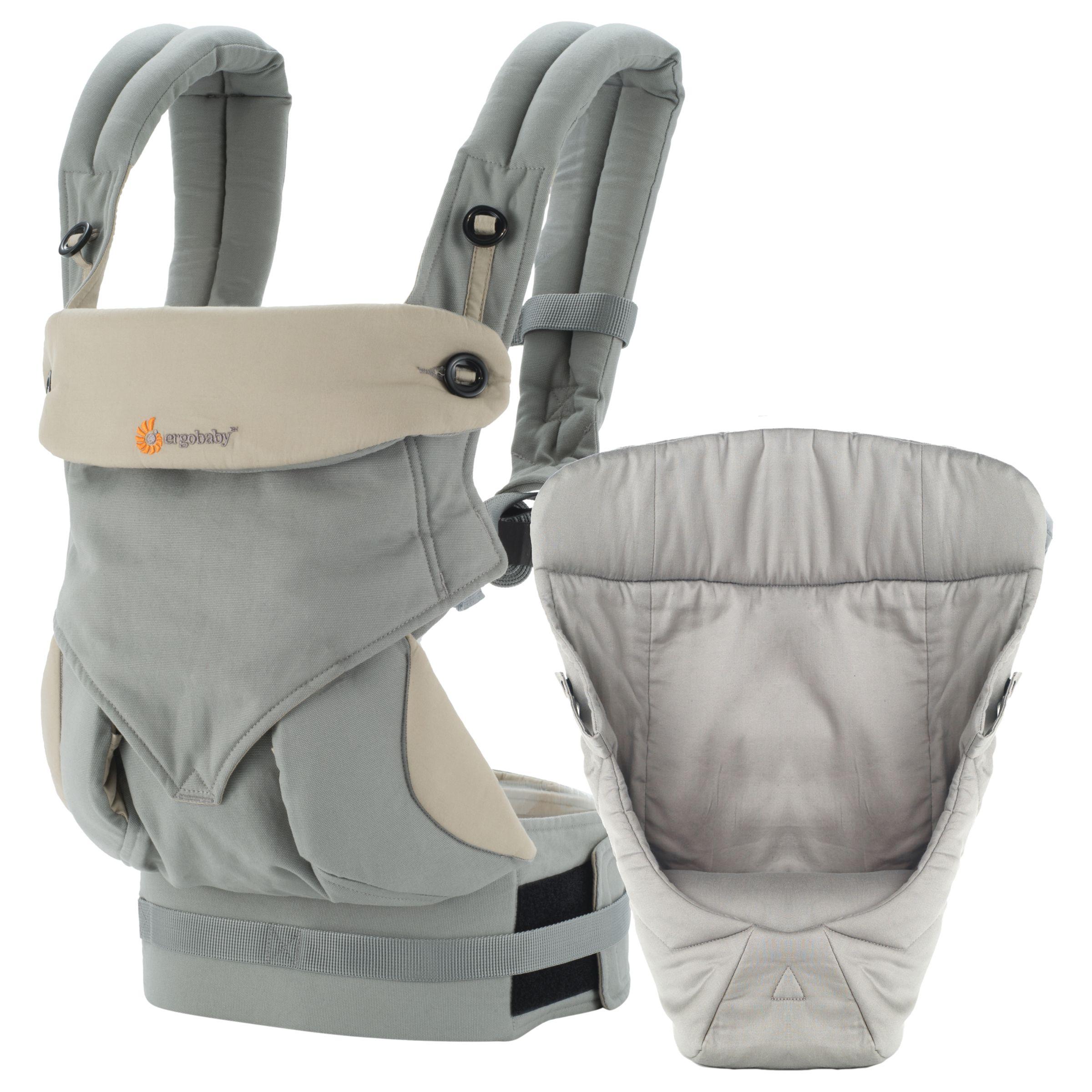 Ergobaby Ergobaby 360 Bundle of Joy Baby Carrier With Insert, Grey