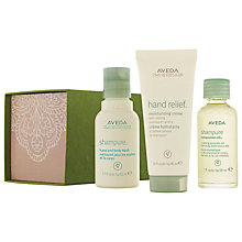 Buy AVEDA Hand Shampure Skincare Gift Set Online at johnlewis.com