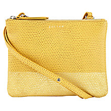 Buy Jigsaw Edie Snake Double Pouch Bag Online at johnlewis.com
